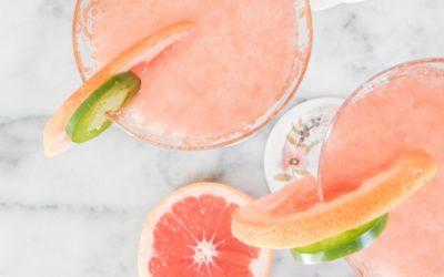 Summer Grapefruit Cocktails