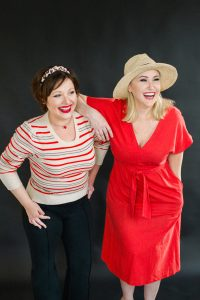 Jen Richmond and Liz Sloan event designers and owners of Pretty Together