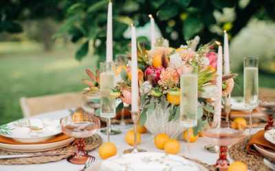 A SWEET AND SOUTHERN(ISH) CHINOISERIE TABLE SETTING