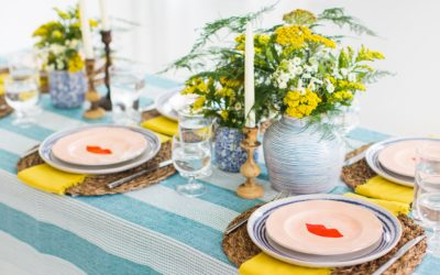 A SWEET SUMMER TABLE DESIGN