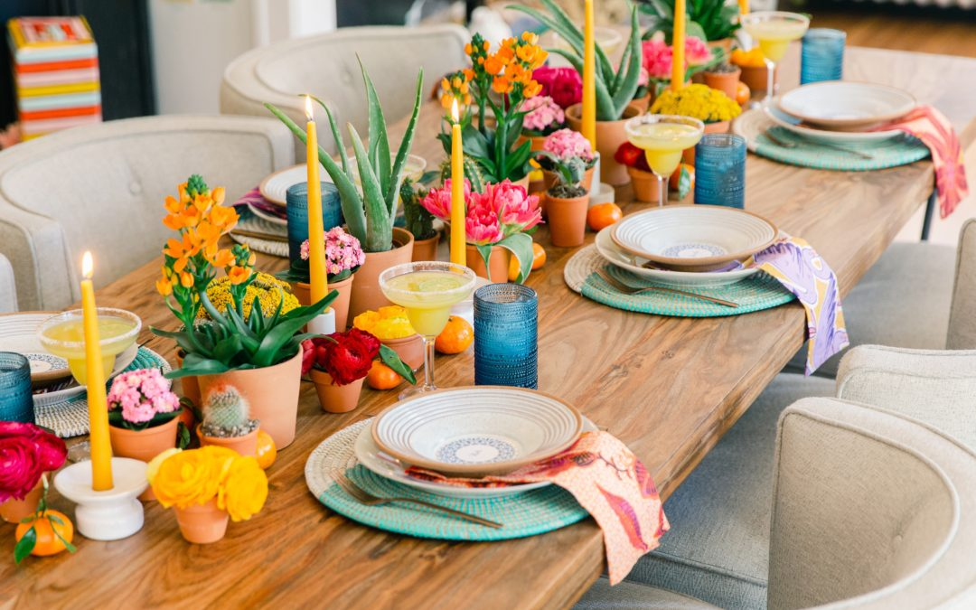 A BRIGHT MODERN TABLE FOR CINCO DE MAYO