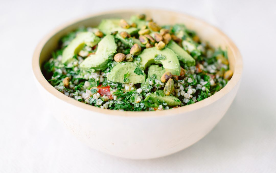 Super Nutty Tabbouleh with Avocado